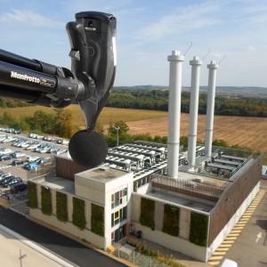 Mesure de l'impact acoustique d'une chaufferie en façade de riverains à Metz