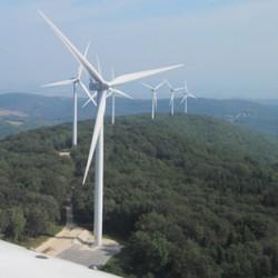Mesures environnementales d'impact acoustique d'un parc d'éoliennes